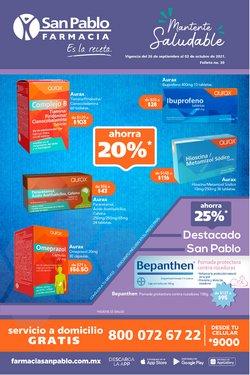 Ofertas de Hiper-Supermercados en el catálogo de Farmacia San Pablo ( Publicado ayer)