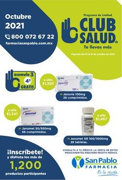 Ofertas de Hiper-Supermercados en el catálogo de Farmacia San Pablo ( 15 días más)