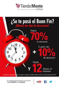 Ofertas de Tienda Monte  en el folleto de Monterrey