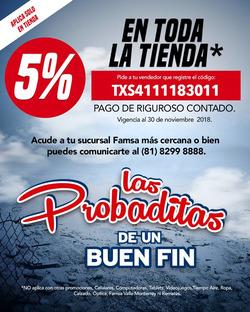 Ofertas de Hogar y muebles  en el folleto de Famsa en Ocotlán (Jalisco)