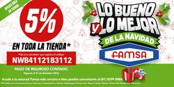 Ofertas de Famsa  en el folleto de Monterrey