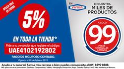 Ofertas de Famsa  en el folleto de Cuajimalpa de Morelos