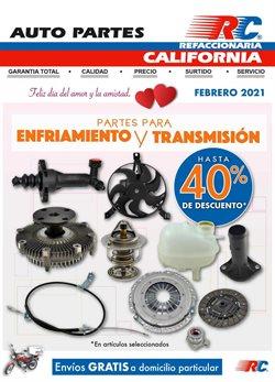 Catálogo Refaccionaria California en León ( Caducado )