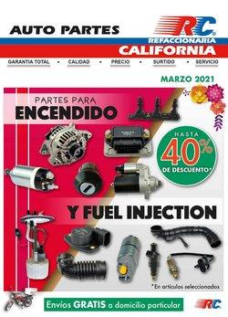 Catálogo Refaccionaria California ( 2 días publicado )