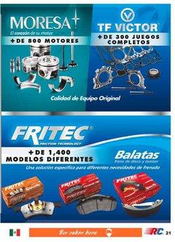 Ofertas de Autos, Motos y Repuestos en el catálogo de Refaccionaria California ( 20 días más )