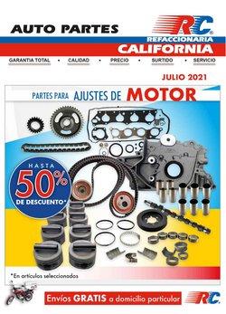 Ofertas de Autos, Motos y Repuestos en el catálogo de Refaccionaria California ( Vence hoy)