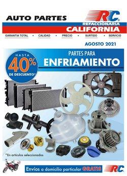 Ofertas de Autos, Motos y Repuestos en el catálogo de Refaccionaria California ( 27 días más)