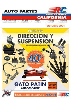 Catálogo Refaccionaria California ( 4 días más)