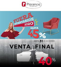 Catálogo Muebles Placencia ( 3 días publicado )