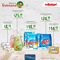 Ofertas de SuBodega en el catálogo de SuBodega ( Publicado ayer)
