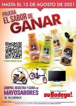 Ofertas de Hiper-Supermercados en el catálogo de SuBodega ( 11 días más)