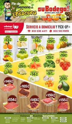 Ofertas de SuBodega en el catálogo de SuBodega ( Vence mañana)