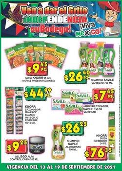 Ofertas de SuBodega en el catálogo de SuBodega ( Vence hoy)