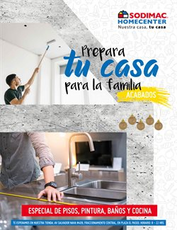 Ofertas de Hogar y Muebles en el catálogo de Sodimac Homecenter en San Luis Potosí ( 26 días más )