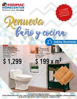 Ofertas de Hogar y Muebles en el catálogo de Sodimac Homecenter en Naucalpan (México) ( Caduca hoy )