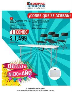 Ofertas de Hogar y Muebles en el catálogo de Sodimac Homecenter en Veracruz ( Publicado ayer )