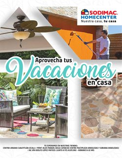 Catálogo Sodimac Homecenter ( 18 días más )