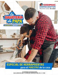 Ofertas de Ferreterías y Construcción en el catálogo de Sodimac Homecenter ( 8 días más)