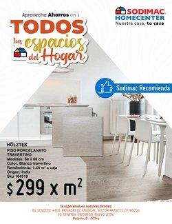 Ofertas de Hogar y Muebles en el catálogo de Sodimac Homecenter ( 19 días más)