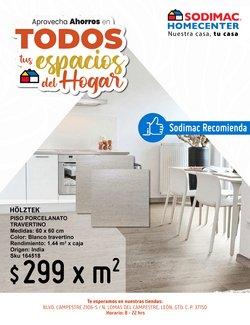 Ofertas de Ferreterías y Construcción en el catálogo de Sodimac Homecenter ( 19 días más)