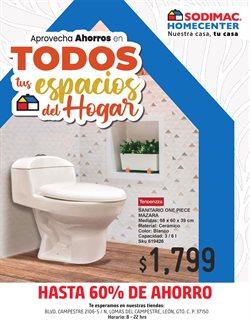 Ofertas de Hogar y Muebles en el catálogo de Sodimac Homecenter ( 13 días más)