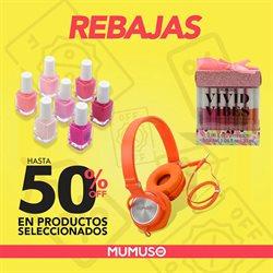 Ofertas de Tiendas Departamentales en el catálogo de Mumuso en General Escobedo ( 8 días más )