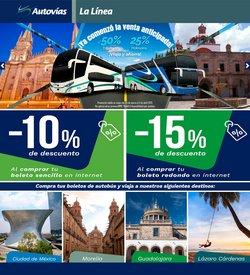Ofertas de Viajes en el catálogo de Autovías en Heróica Puebla de Zaragoza ( 5 días más )