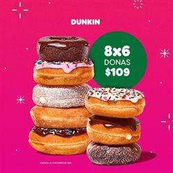 Ofertas de Pastelitos en Dunkin' Donuts