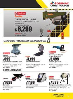 Catálogo Sodimac Constructor ( 22 días más )