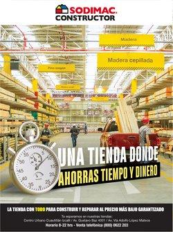 Ofertas de Hogar y Muebles en el catálogo de Sodimac Constructor en Soledad de Graciano Sánchez ( 25 días más )