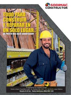 Catálogo Sodimac Constructor ( 10 días más )