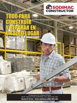 Ofertas de Ferreterías y Construcción en el catálogo de Sodimac Constructor ( 7 días más)