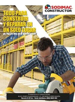 Ofertas de Tiendas Departamentales en el catálogo de Sodimac Constructor ( 5 días más)
