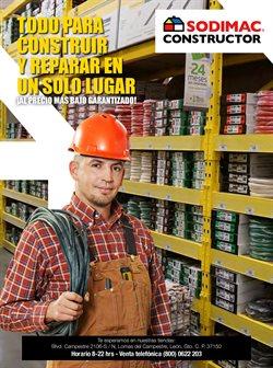 Ofertas de Ferreterías y Construcción en el catálogo de Sodimac Constructor ( Vence mañana)
