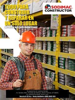Ofertas de Hogar y Muebles en el catálogo de Sodimac Constructor ( 5 días más)
