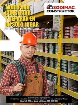 Ofertas de Hogar y Muebles en el catálogo de Sodimac Constructor ( Vence mañana)