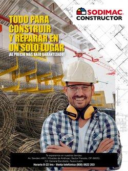 Ofertas de Ferreterías y Construcción en el catálogo de Sodimac Constructor ( 24 días más)