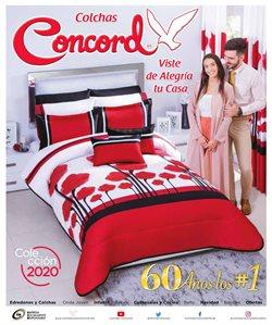 Ofertas de Colchas Concord  en el folleto de Monterrey