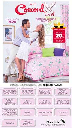 Catálogo Colchas Concord en Cuajimalpa de Morelos ( Caducado )
