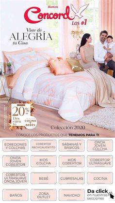 Catálogo Colchas Concord en Guadalajara ( Caducado )