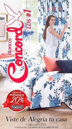 Catálogo Colchas Concord en Guadalajara ( Publicado ayer )