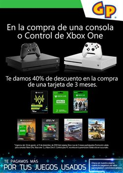 Ofertas de Xbox One  en el folleto de Gameplanet en Tlaquepaque