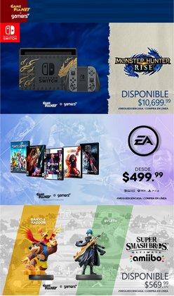 Ofertas de Electrónica y Tecnología en el catálogo de Gameplanet en Guadalupe (Nuevo León) ( 6 días más )