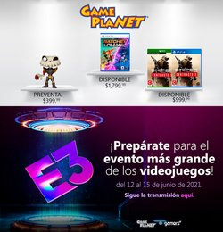 Ofertas de Gameplanet en el catálogo de Gameplanet ( 12 días más)