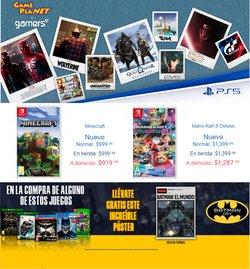 Catálogo Gameplanet ( 4 días más)