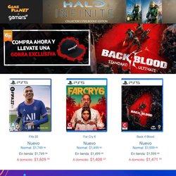 Catálogo Gameplanet ( 8 días más)