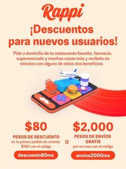 Ofertas de Hiper-Supermercados en el catálogo de Rappi ( 17 días más)