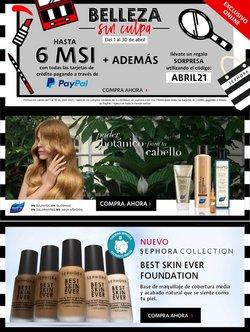 Catálogo Sephora en Guadalajara ( 20 días más )