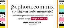 Cupón Sephora en Monterrey ( 3 días más )
