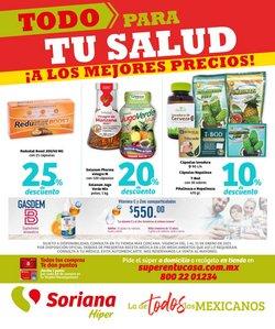 Ofertas de Hiper-Supermercados en el catálogo de Soriana Híper en Tijuana ( 14 días más )